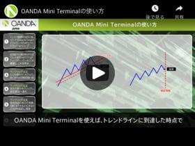 OANDA Mini Terminalの使い方